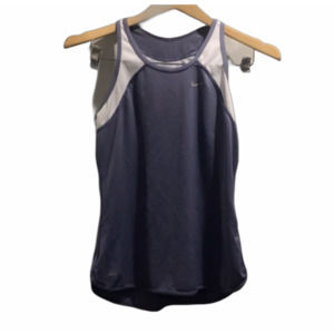 Nike Dry periwinkle tank size small